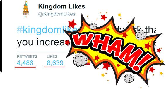 8000 Likes Twitter